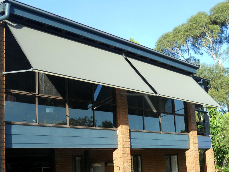 Outdoor Pivot Arm Awnings
