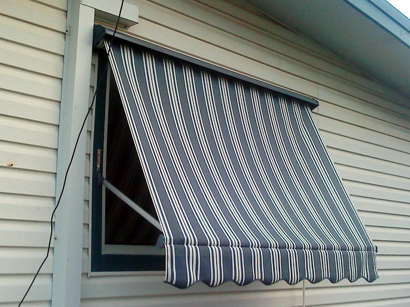 Pivot Arm Awnings