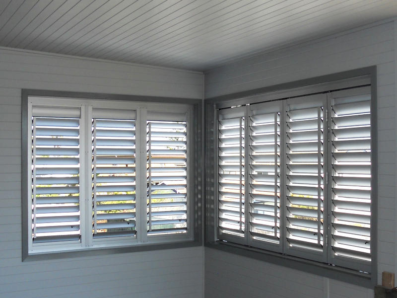 Aluminium Plantation Shutters / Screens